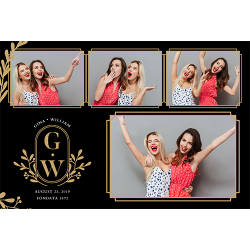 UPGRADE TO 4X6 PHOTO BOOTH PRINTS - $50 P/H