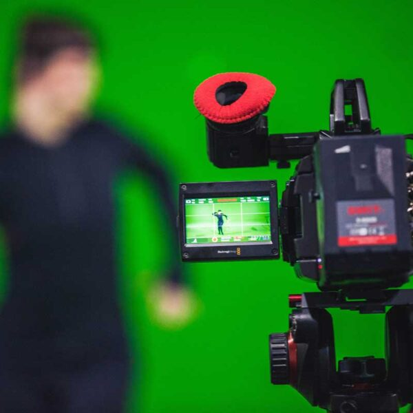 how does green screen work? It drops predefined colors to transparency thereby providing a clean outline to isolate the intended target