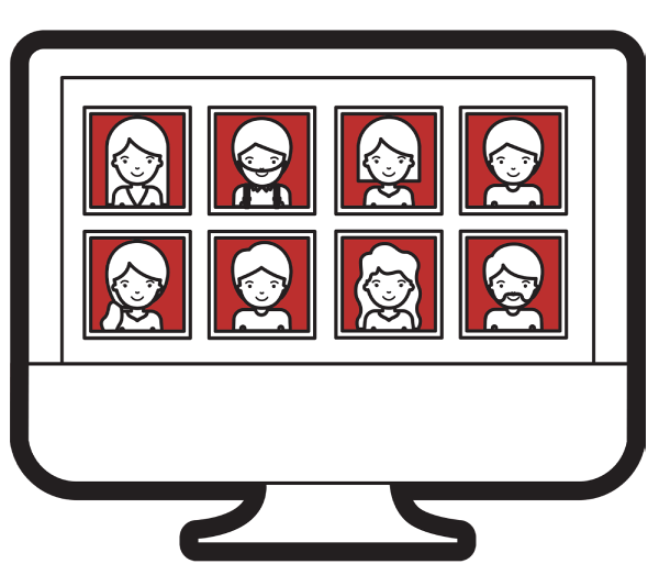 photo booths include the option of an online gallery